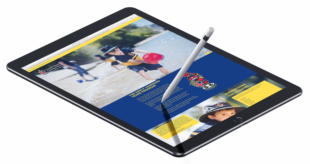 CCGS - Digital brochure - iPad application.