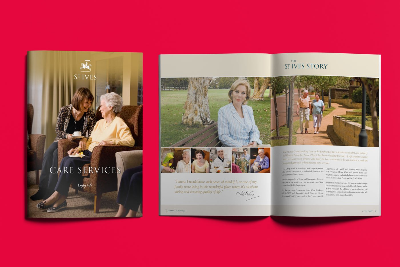 St Ives Care | Services Brochure